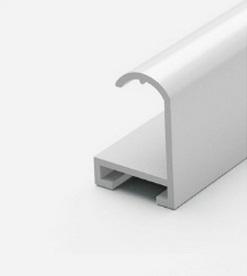 Профиль алюминиевый белый