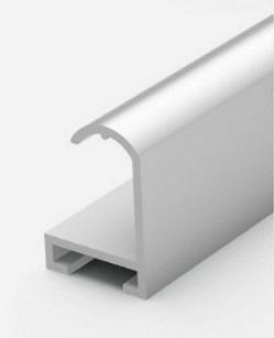 Профиль алюминиевый серебро