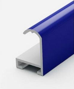 Профиль алюминиевый синий